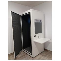 Cabina audiológica para audiometrías